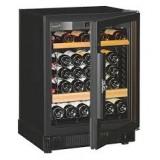 EURO CAVE - V059V3 (1 Sliding & 1 Wooden Shelves, 47 Bottles)